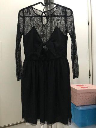 [ Reprice ] Zara black dress