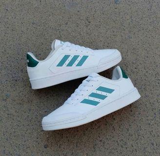 Adidas Court 70s Leather Green White Original BNWB