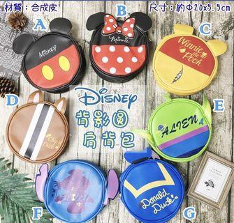 迪士尼 側背包 肩背包