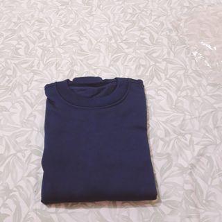 Sweater atau Sweatshirt Polos Navy #StefanyTalitaGiveaway