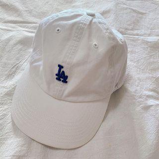 MLB 47BRAND 白色LA老帽