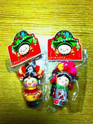 中國民族娃娃(2個)