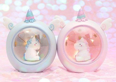 Unicorn night lamp - READY STOCK & FREE SHIPPING ! For gift and decor