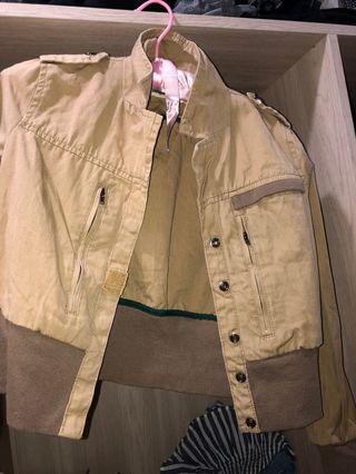 短板風衣外套