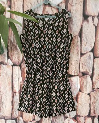 Colorbox jumpsuit tenun pattern
