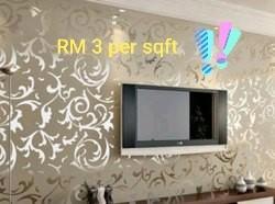 Wallpaper supply & install