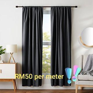 Curtain supply & install