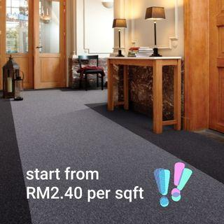 (KL)Carpet supply & install