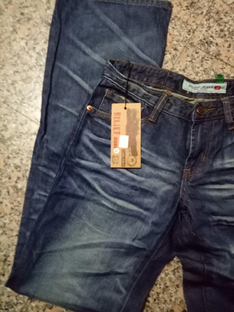 全新品牌造型牛仔褲----28腰