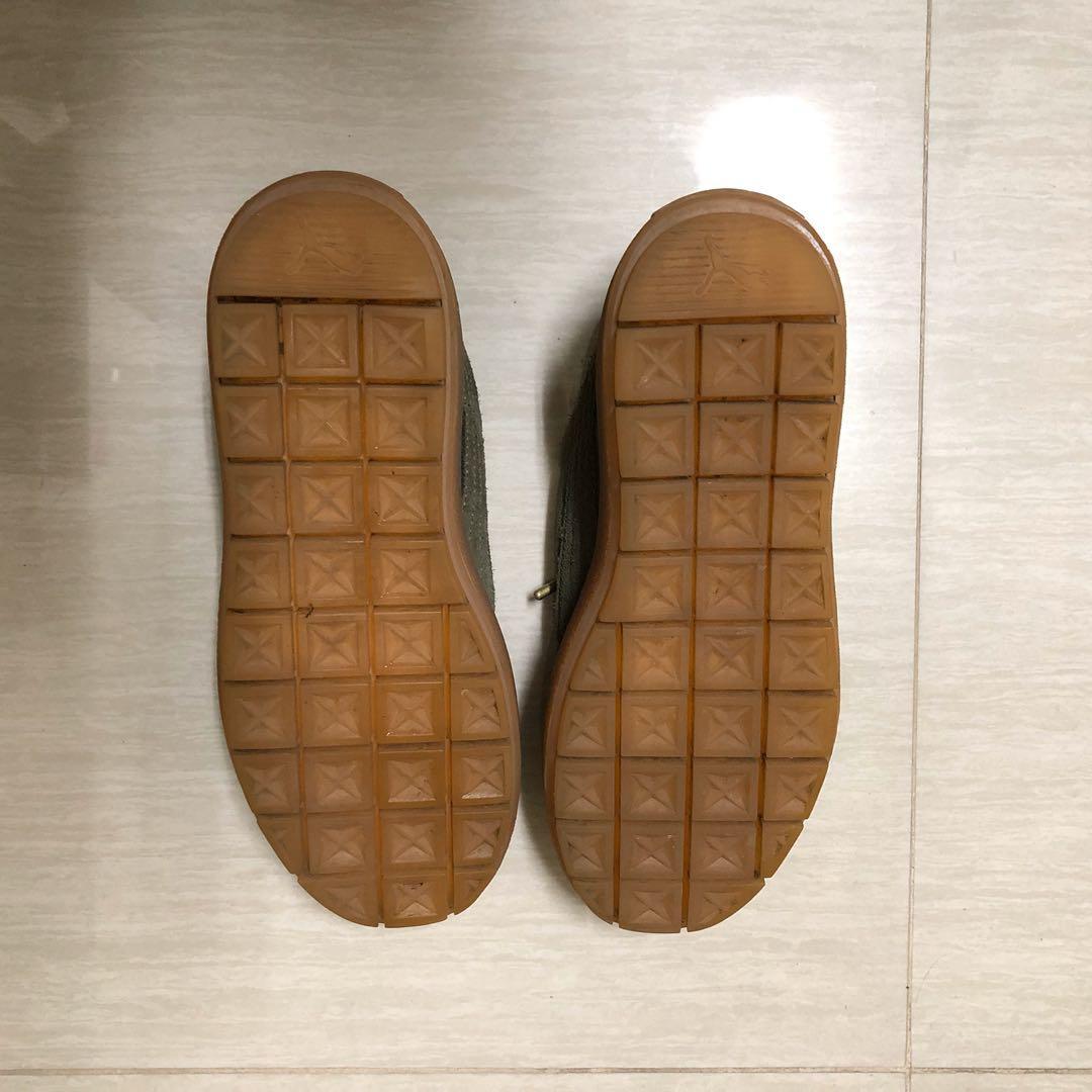 免運❗️二手9.5成新 puma suede platform trace 鬆糕鞋 厚底鞋 墨綠 焦糖底 23.5號