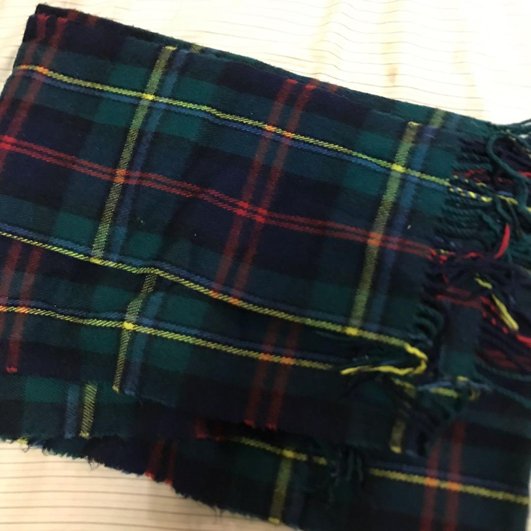 百搭配色冬季兩用圍巾/暖毯
