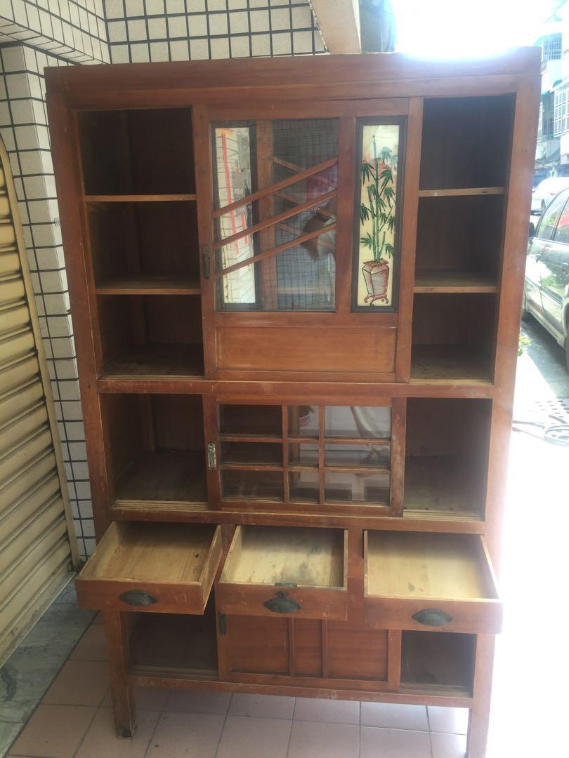 古董家具檜木廚櫃