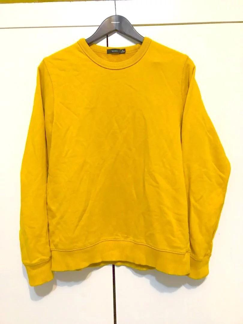 【二手】黃色長袖上衣 (M-L)