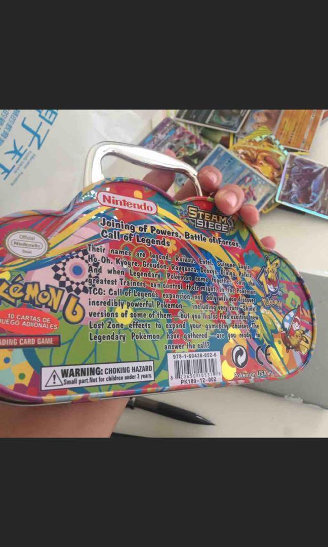寶可夢鐵盒正版授權日本太陽與月亮