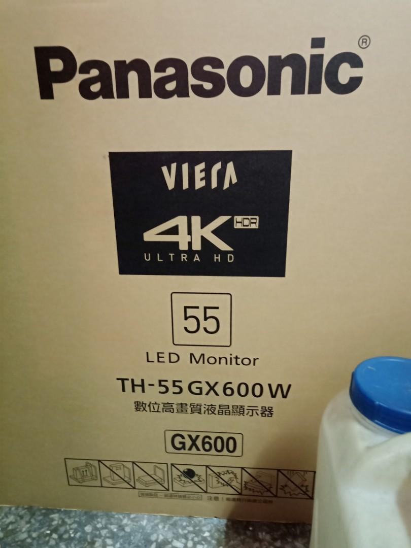 國際 牌電視55吋 4K 型號TH-55GX600W