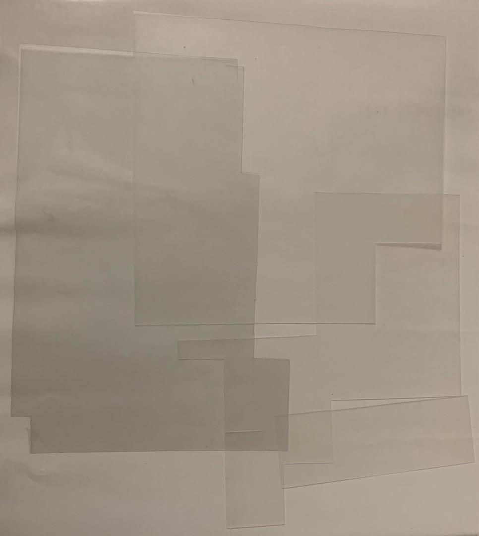 模型材料出清 雙白霧面模型板 1.3mm