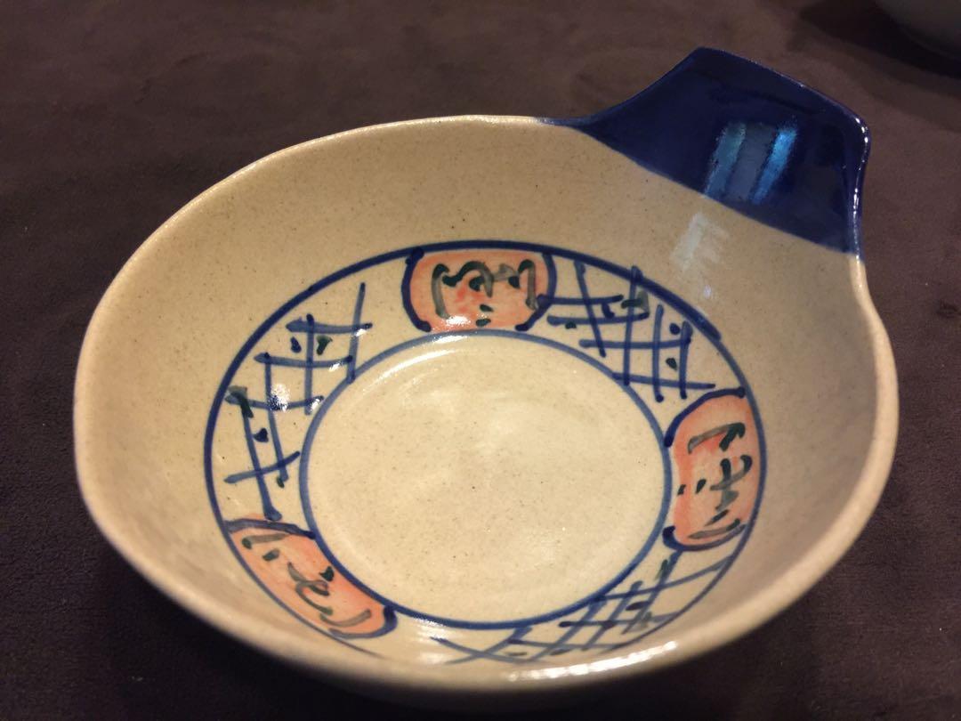 復古陶瓷湯碗、復古陶瓷湯碗 x 5