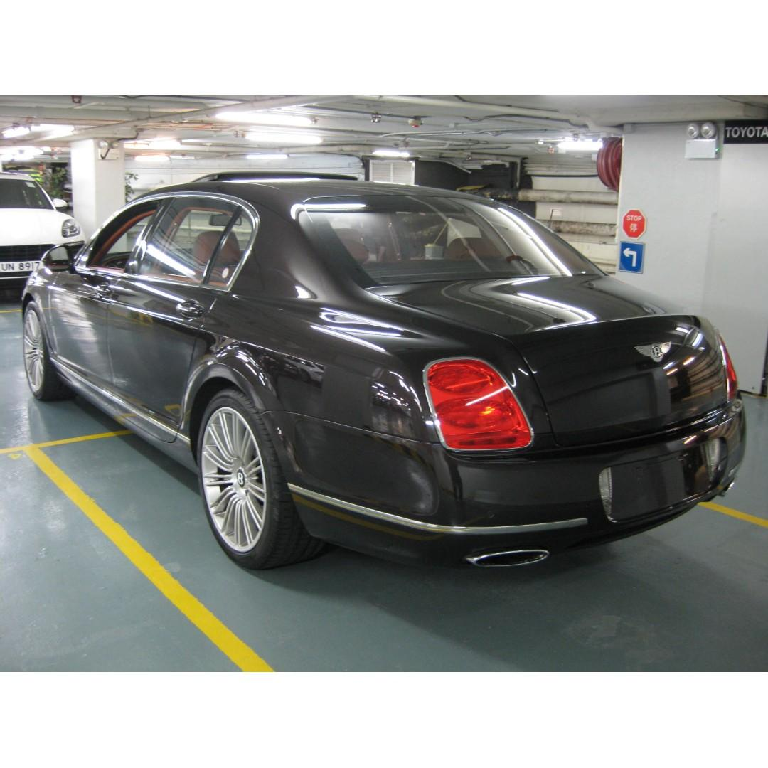 2010 BENTLEY CONTINENTAL FLYING SPUR W12