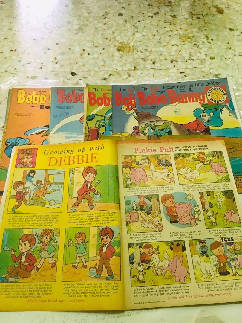 Bobo bunny comic combo