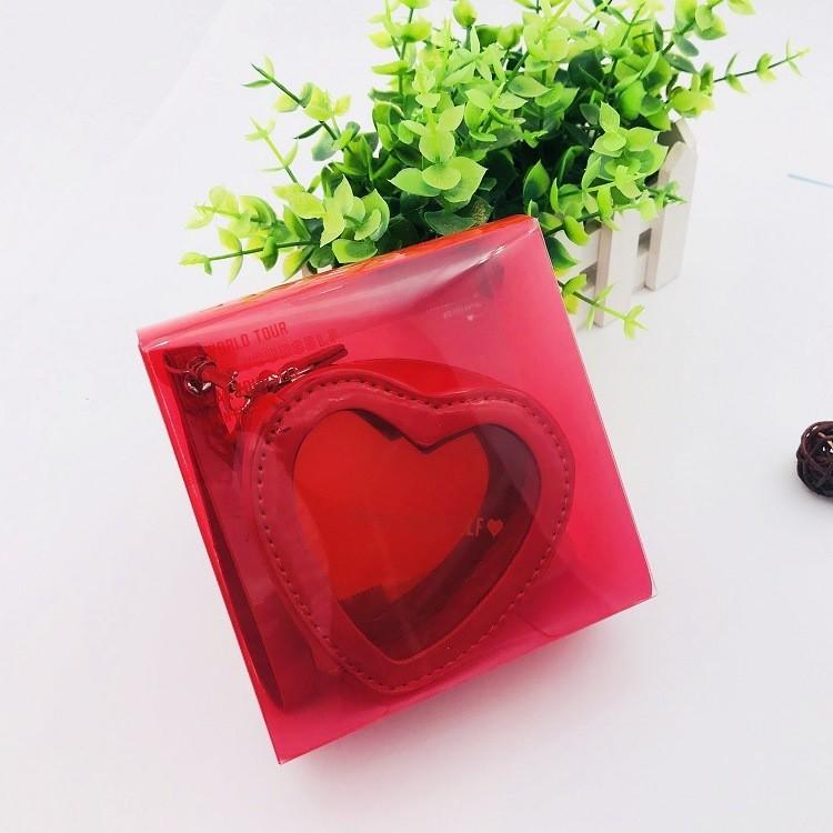 BTS SPEAK YOURSELF JAPAN EDITION RED LOVE COIN PURSE