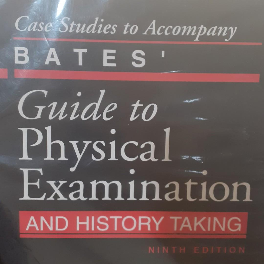 Case stidies to Accompany Bates' Guide to Physical Examination and History Taking
