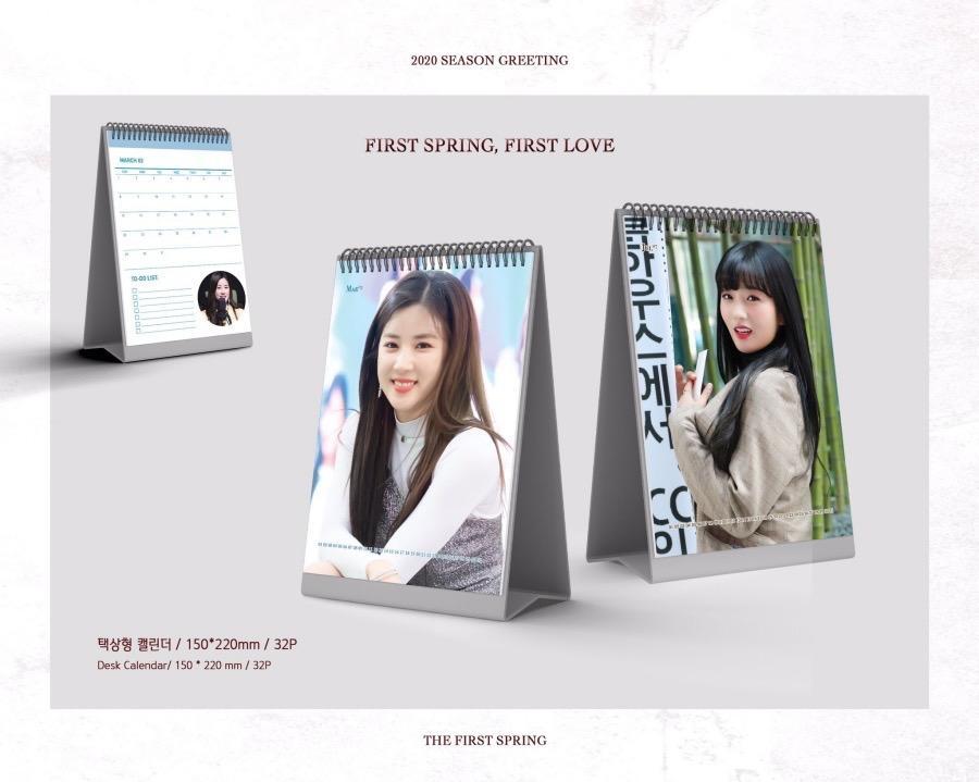 CHORONG & BOMI - 2020 Season Greeting 'First Spring, First Love' [1/11]