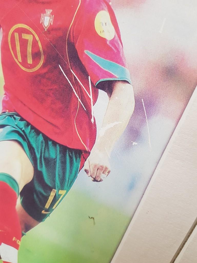 Christiano Ronaldo photo frame used home decor soccer