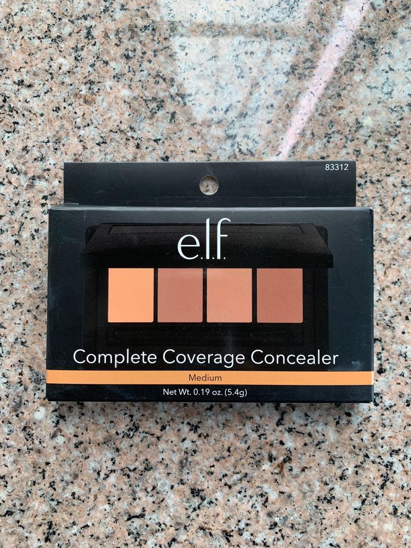 Elf complete coverage concealer palette 4色無瑕遮瑕膏
