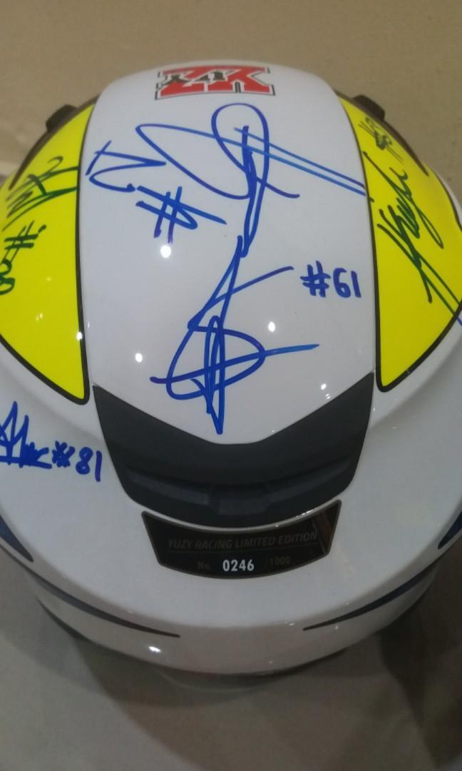 Givi Yuzy Racing Limited Edition Double Visor Helmet