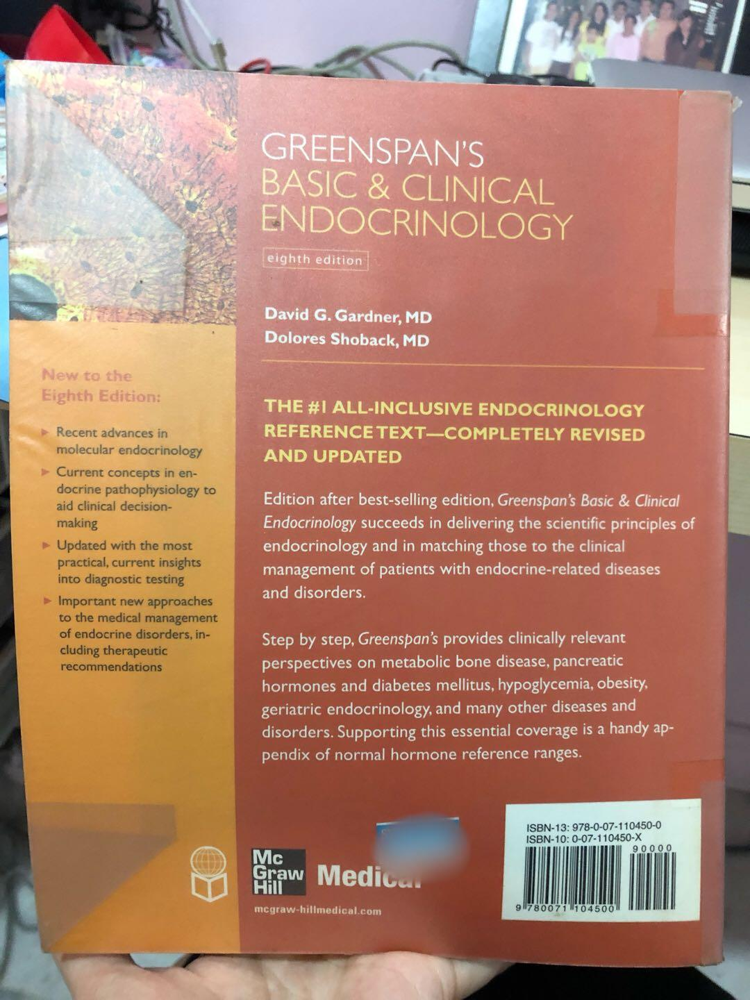 Greenspan's basic & clinical endocrinology 8th edition