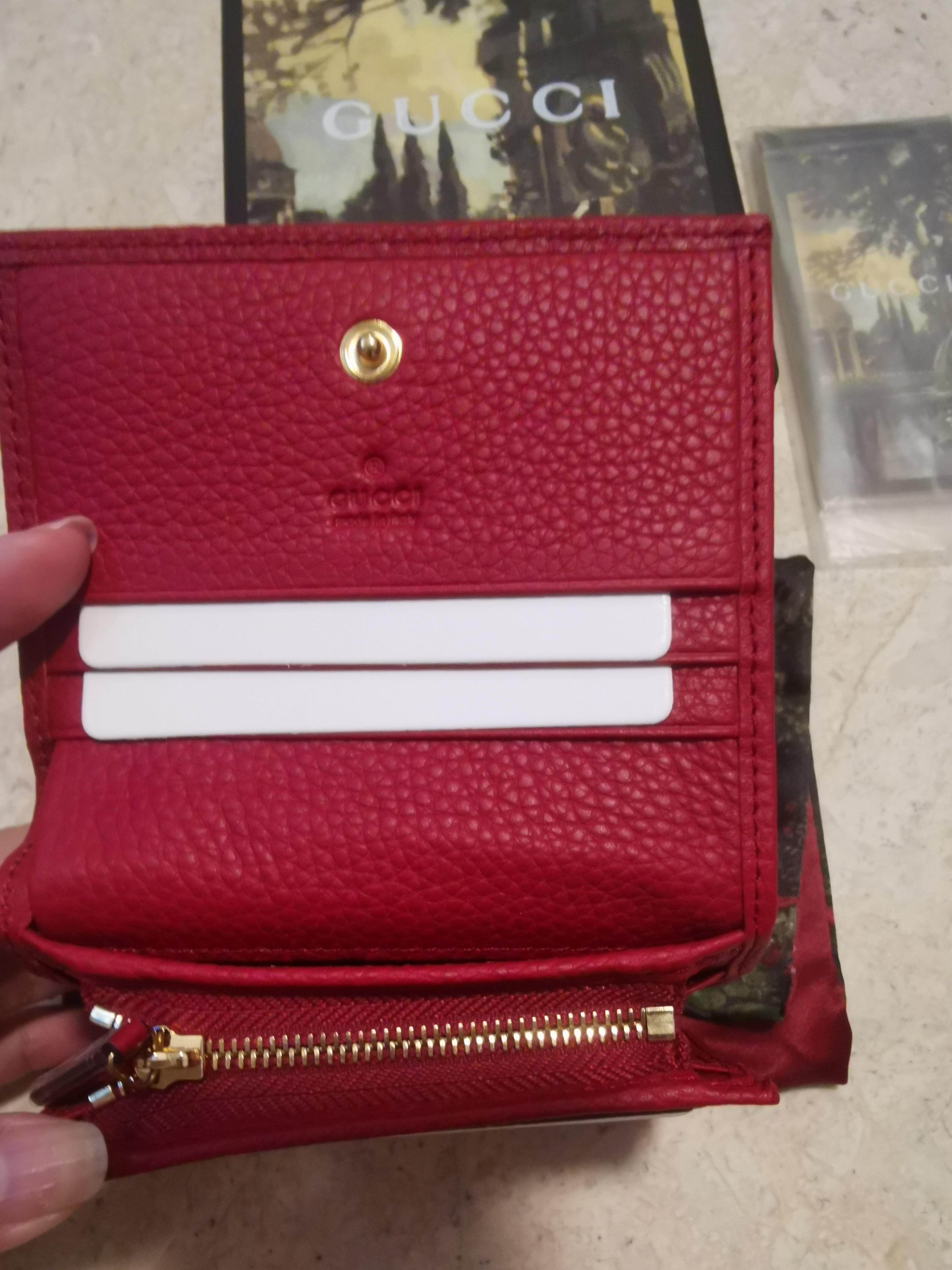 Gucci Marmont GG Short Wallet