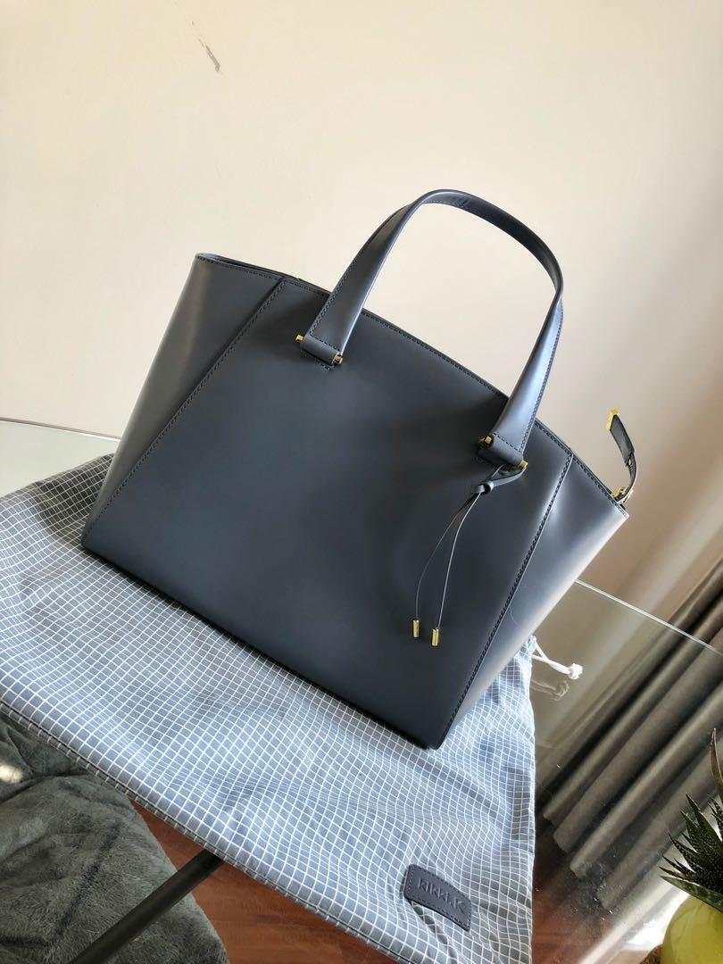 Kikki K Maja Stockholm Premium Leather Bag with lots of compartments