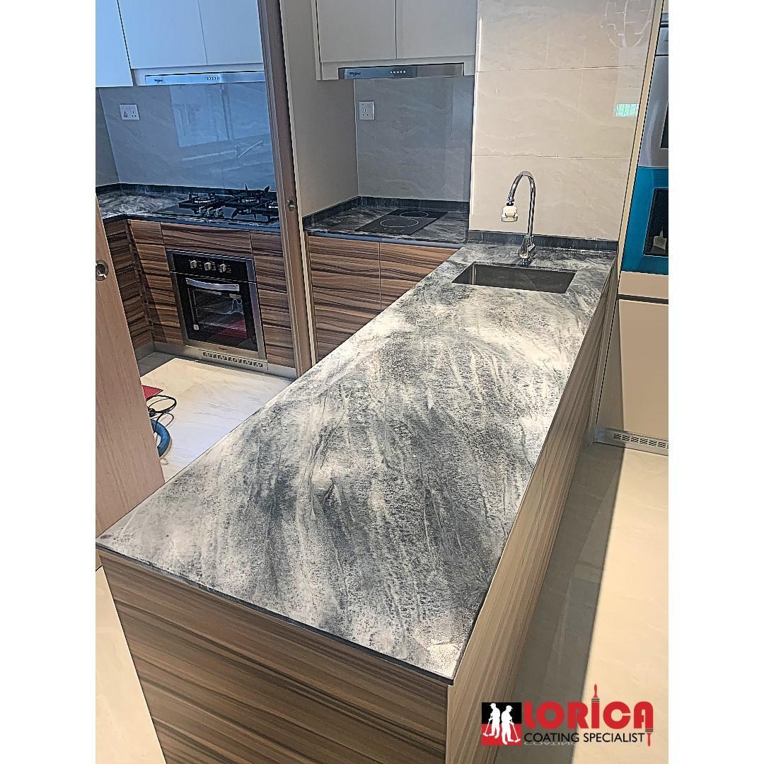 Kitchen Top, Epoxy Counter Top, Metallic Epoxy, Quartz Top, Counter Top, Kitchen Cabinet, Epoxy Coating