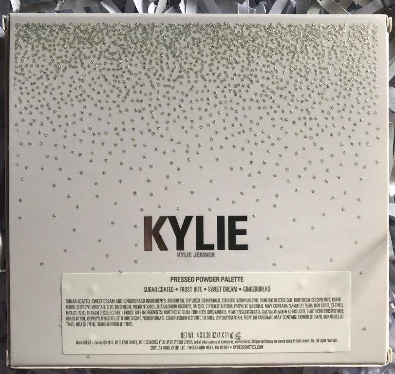 KYLIE COSMETICS HOLIDAY COLLECTION THE WET SET HIGHLIGHTER PALETTE [NEVER USED, NO SWAPS, PRICE IS FIRM]