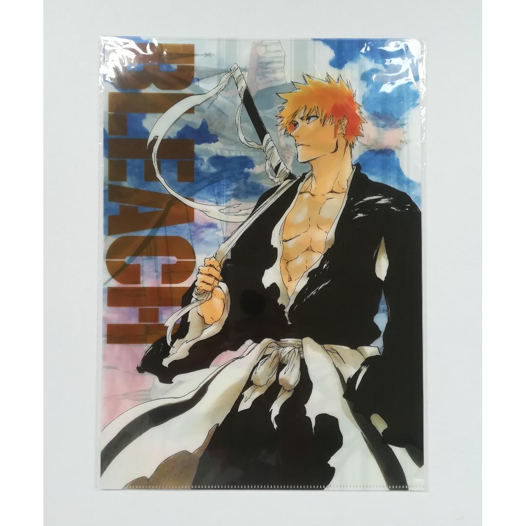 (Limited + Exclusive) WJ 50th Anniversary Bleach - Kurosaki Ichigo - Clear File