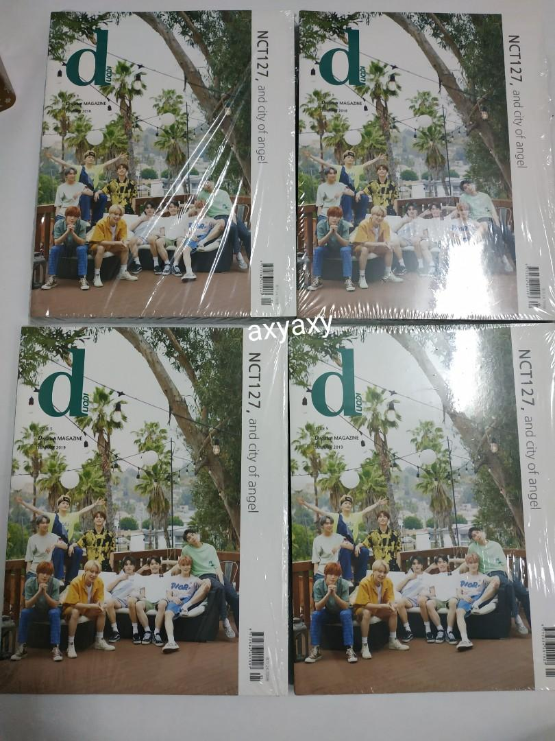 [WTS] NCT 127 and City of Angel Vol.5 Dicon Magazine: Magazine