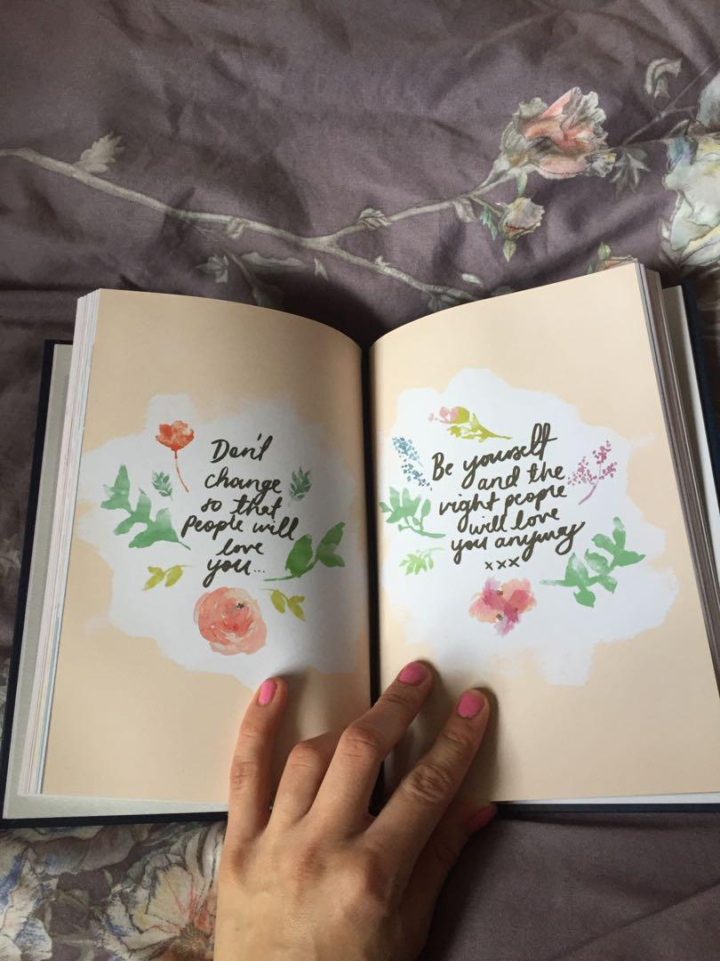 Lorna Jane 2019 active living diary includes recipes!