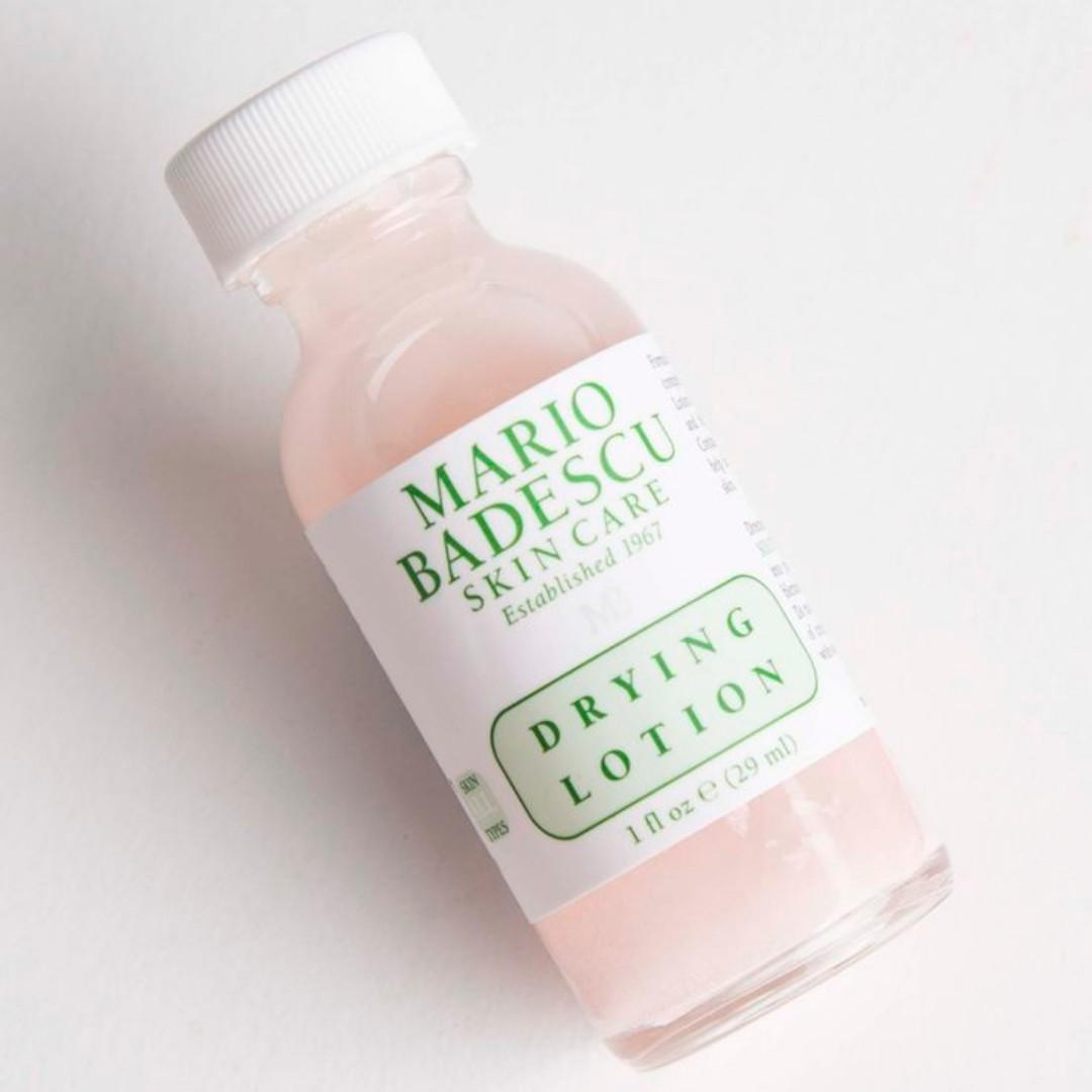 Mario Badescu Acne Pimple Blemish Spot Treatment Drying Lotion 29ml As Seen Used By Huda Beauty. [GLASS BOTTLE] BRAND NEW & AUTHENTIC (Price is Firm) NO SWAPS