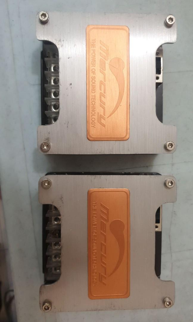 Mercury full range crossover