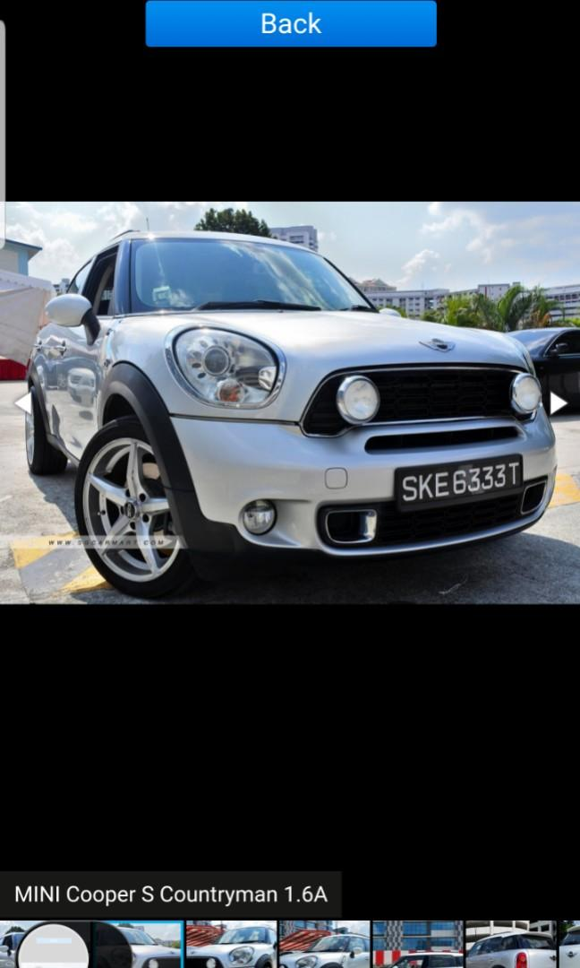 MINI Cooper 1.6 S Countryman (A)