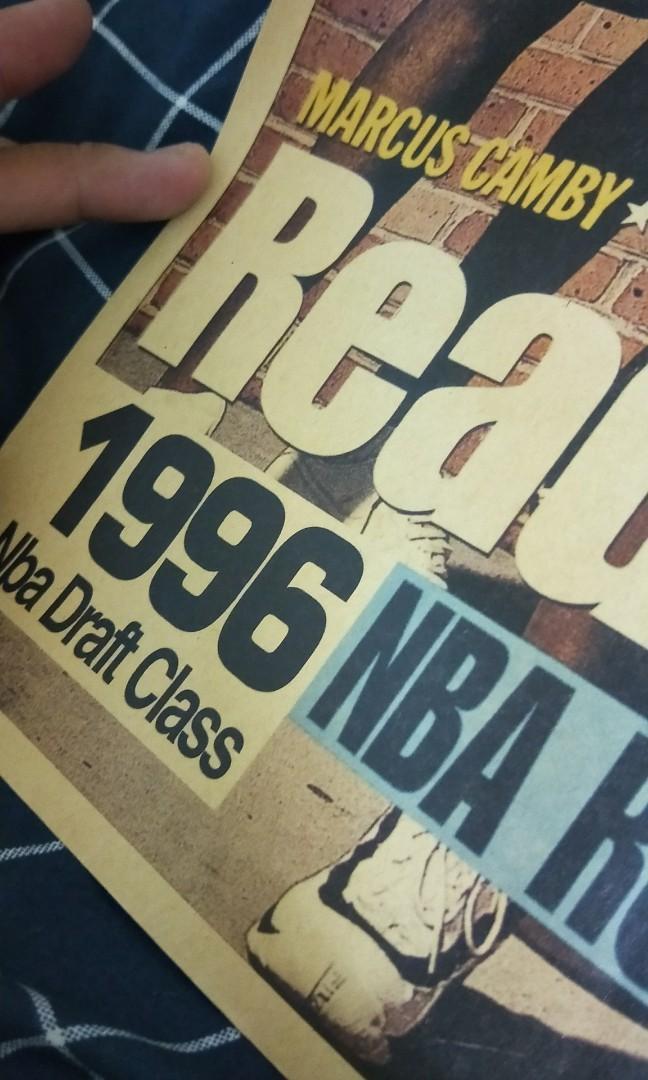 NBA 96梯 復古海報