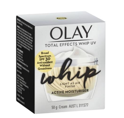Olay Total Effects Whips Face Cream Uv Spf 30 RRP$49