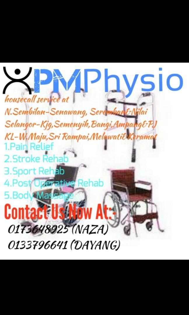 Physiotherapy ,Sports Massage  & Health Body Massage