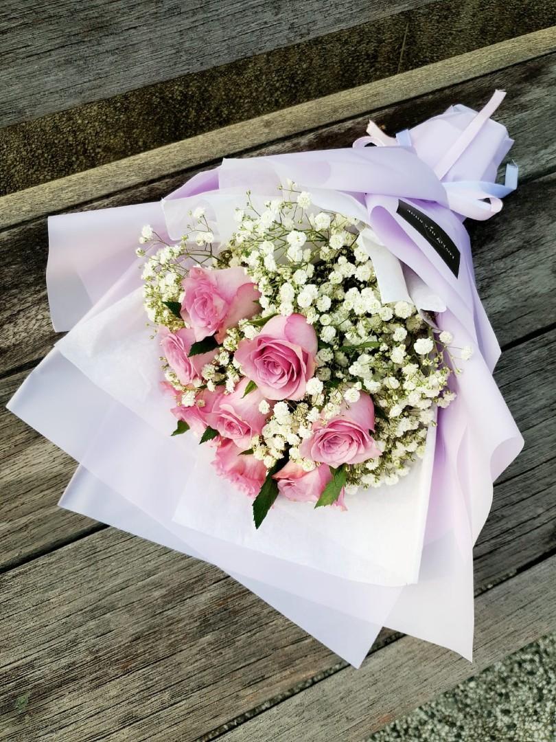 (R03) Intimate - Purple Roses