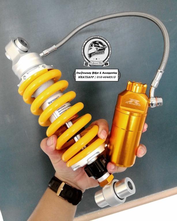 Rapido Performace Monoshock Gas | Yamaha R25 | Kawasaki | KTM | 100% Original