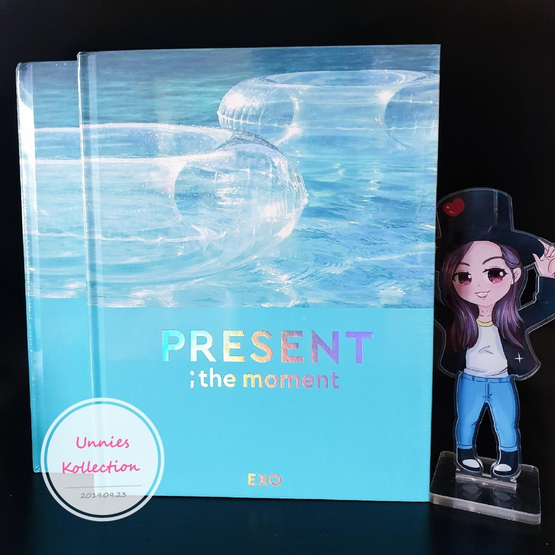 💥💥READY STOCK💥💥 EXO [PRESENT ; the moment] Photobook