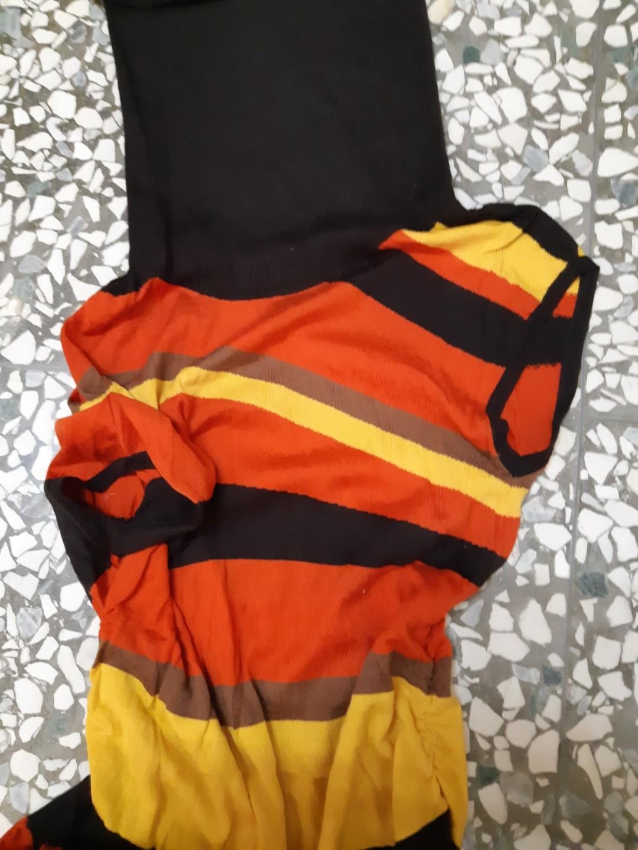 Robyn羅賓針織造型條紋長版上衣