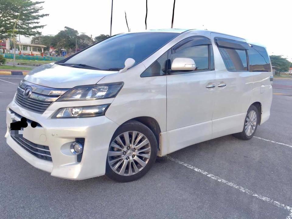 SEWA BELI>>Toyota Vellfire 2.4(A) 1 Power Door 8 Seaters 2012/2016