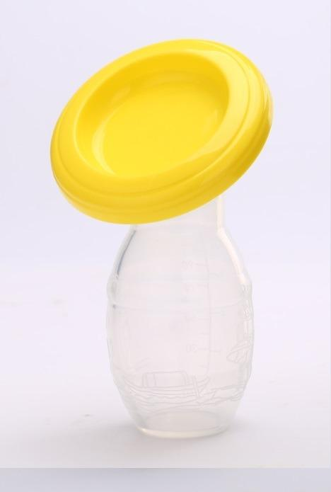 Silicone Manual Breastpump Milk Collector