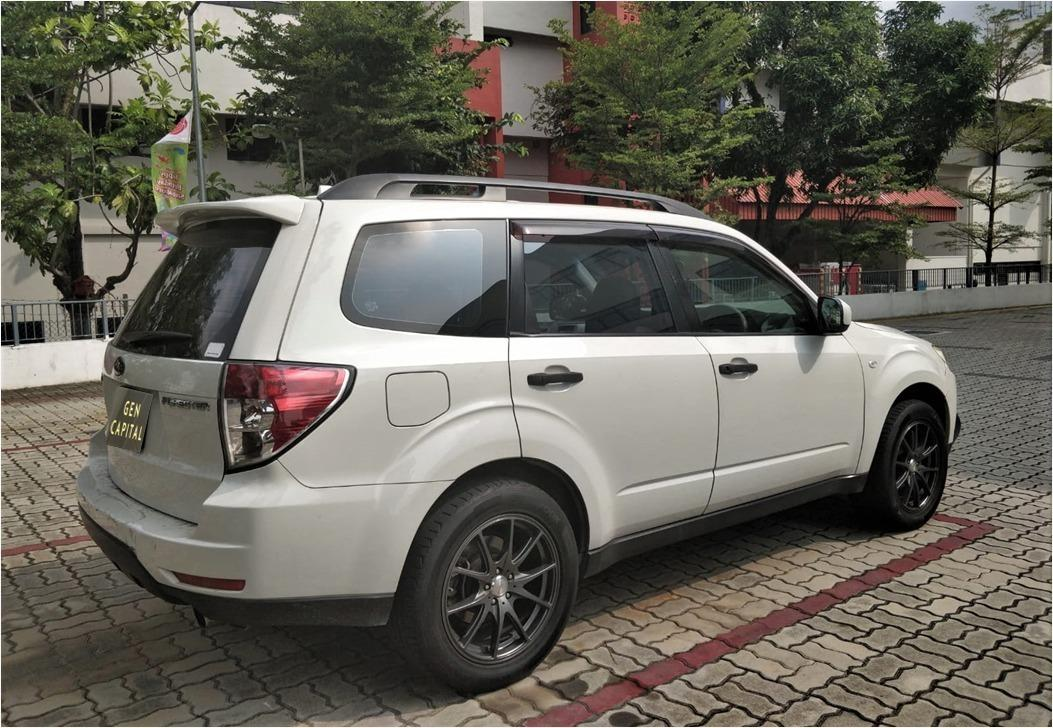 Subaru Forester 2.0A @ Lowest rental rates, good condition!